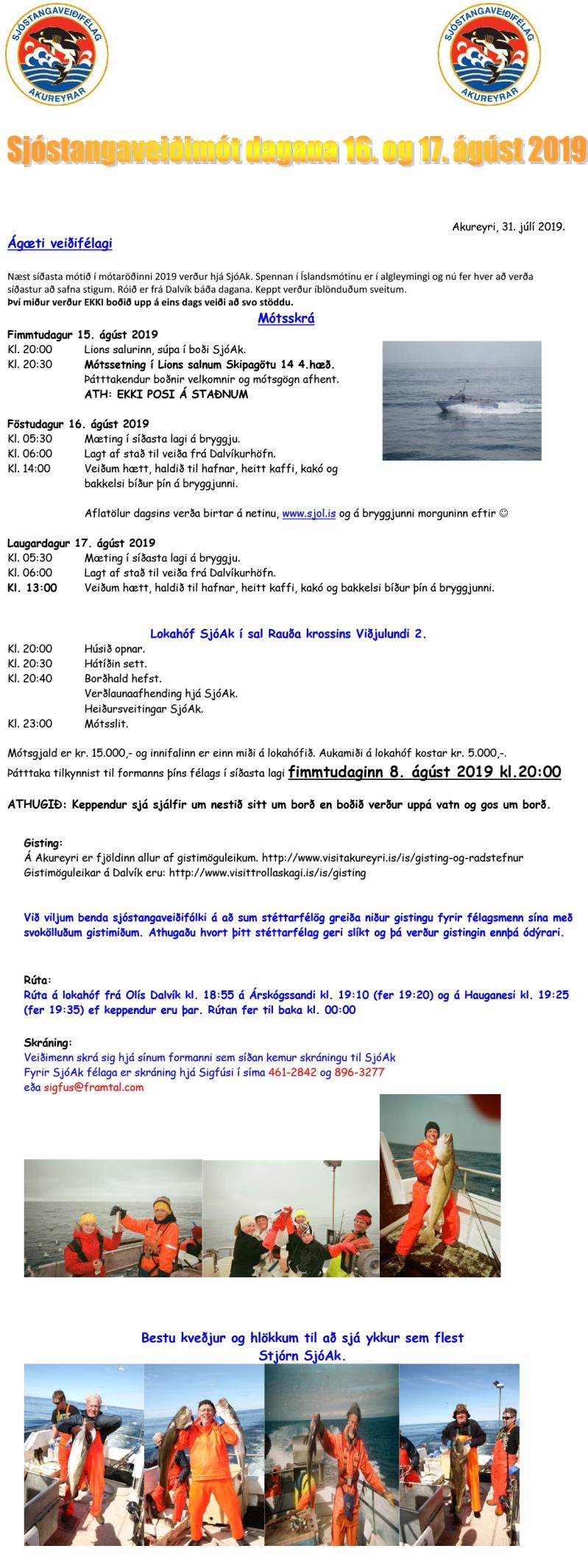 Dreifibréf akmót 2019-1