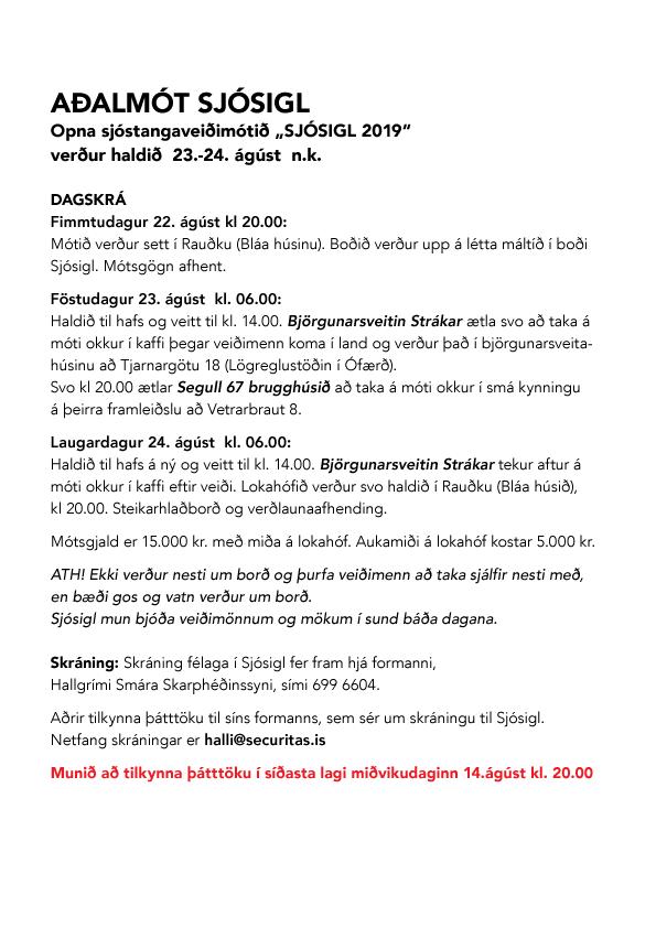 SJOSIGL-adalmot-2019