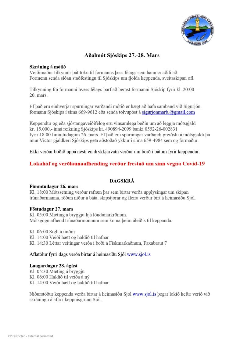 Microsoft Word - Aðalmót Sjóskips 2020.docx